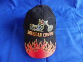 AMERICAN CHOPPER EMBROIDERED BASEBALL CAP